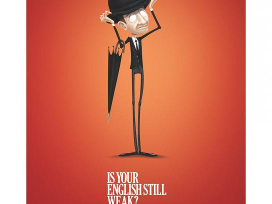 SpeakUp Print Ad -  Englishman