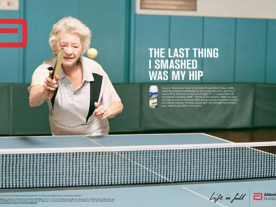 Ensure Print Ad -  Life in full, 4
