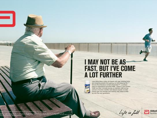 Ensure Print Ad -  Life in full, 3