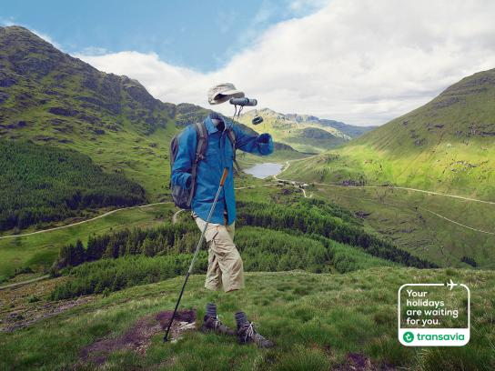 Transavia Airlines Print Ad -  Your holidays are waiting for you, 2