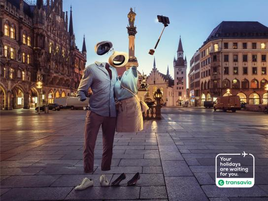 Transavia Airlines Print Ad -  Your holidays are waiting for you, 4