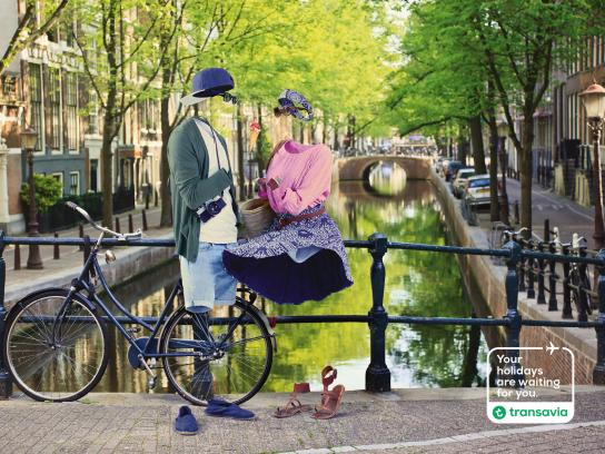 Transavia Airlines Print Ad -  Your holidays are waiting for you, 5