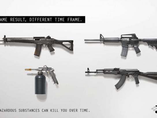 Environmental Protection Authority Print Ad -  Rifles