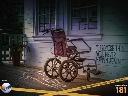 Disque Denúncia Print Ad - Crime Scene, 2