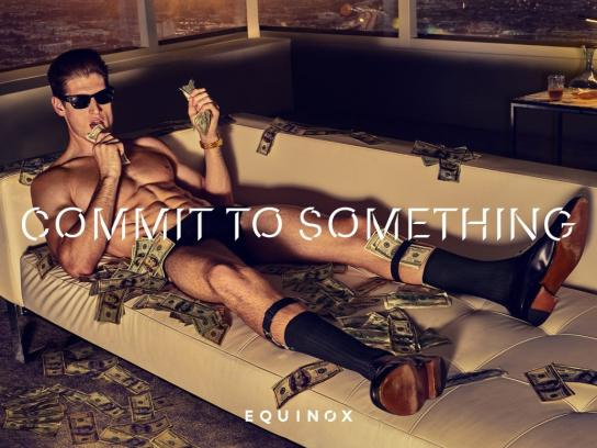 Equinox Print Ad -  Commit to something, 5