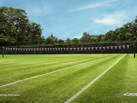 Eurosport Print Ad - The British Grass Court Season