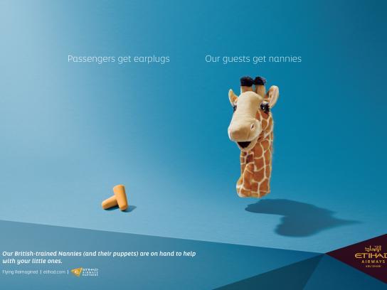 Etihad Airways Outdoor Ad - Nannies