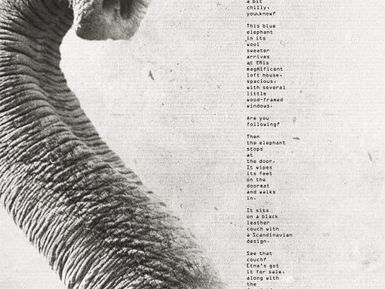 Etna Print Ad - Elephant - Print