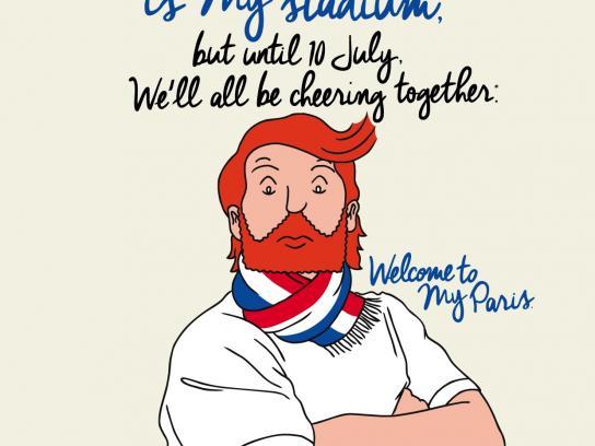 Mayor of Paris Direct Ad - Welcome to My Paris! - Parc des Princes