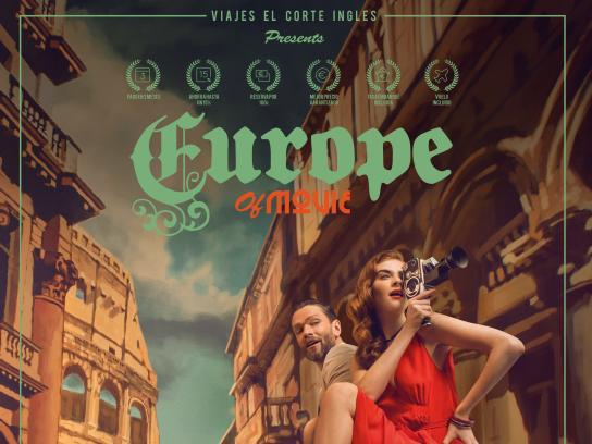 Viajes el Corte Ingles Print Ad - Europe of Movie