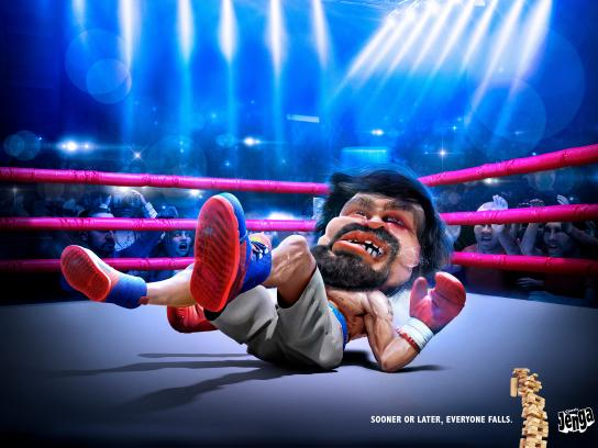 Hasbro Print Ad - Boxer