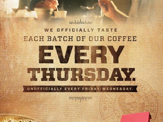 Community Coffee Print Ad -  Every Thursday