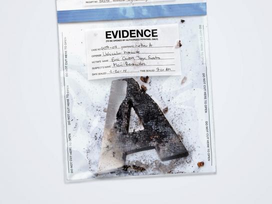 Nissan Print Ad -  Evidence A
