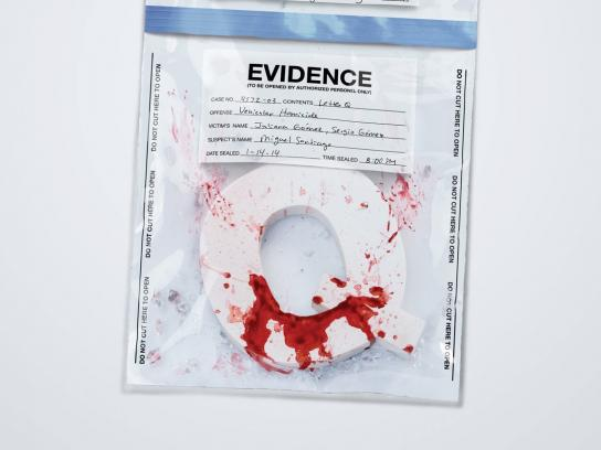 Nissan Print Ad -  Evidence Q