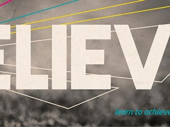 Evocca College Outdoor Ad -  Believe