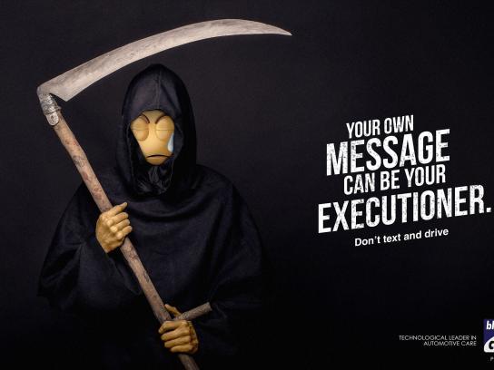 Bluechem Print Ad - Executioner