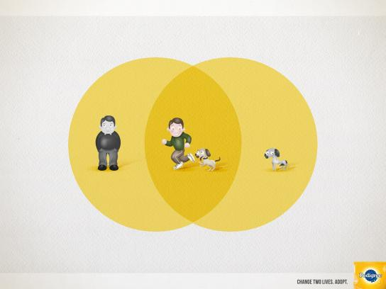 Pedigree Print Ad -  Exercise