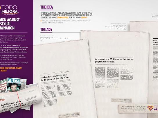Todo Mejora Foundation Print Ad -  Happy