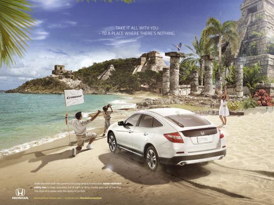 Honda Print Ad -  Explorers