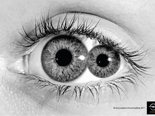 Opel Print Ad -  Eye