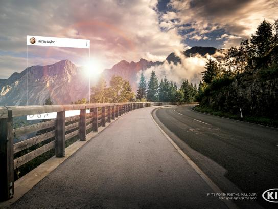 KIA Print Ad - Perfect Picture