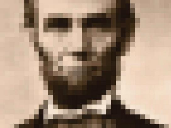 Eyezone Print Ad -  Abraham Lincoln