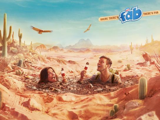 Fab Print Ad - Quicksand
