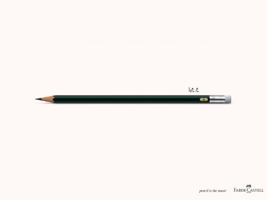 Faber-Castell Outdoor Ad - Let it be