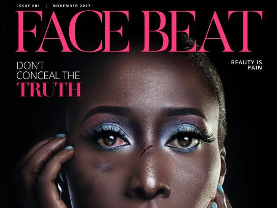Project Alert on Violence Against Women Print Ad - #STOPTHEBLAME - Face Beat
