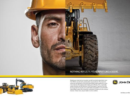 John Deere Print Ad -  Building Together, 3