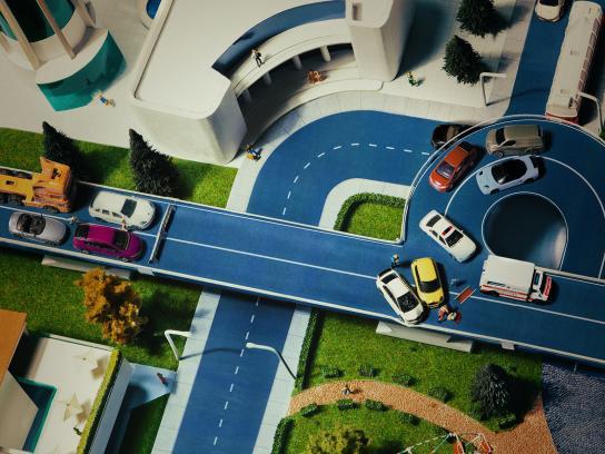 Bucharest Traffic Police Print Ad -  Facebook