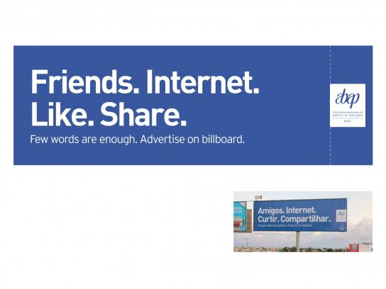 Advertising Agencies Association of Brazil Outdoor Ad -  Facebook