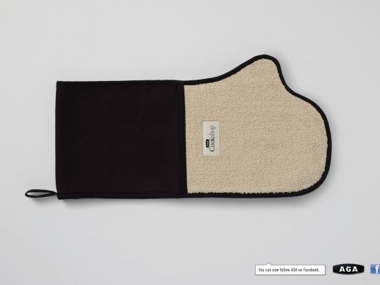 AGA Print Ad -  Facebook glove