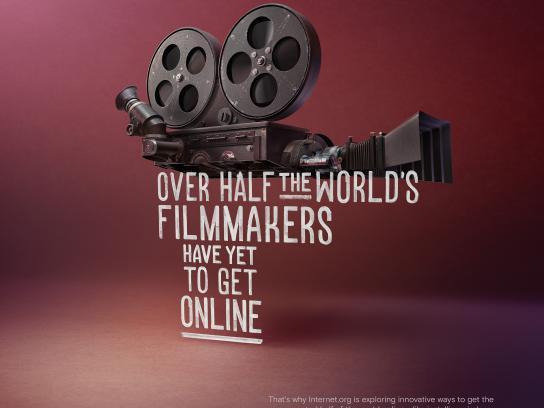 Facebook Print Ad - internet.org - Filmmakers