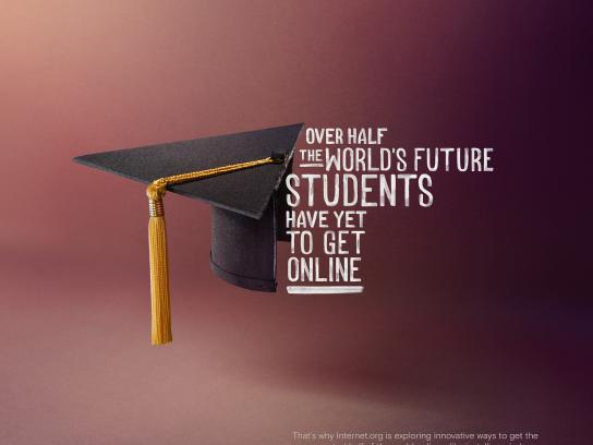 Facebook Print Ad - internet.org - Students