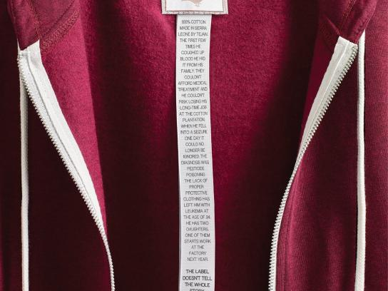 Canadian Fair Trade Network Print Ad -  Hoodie