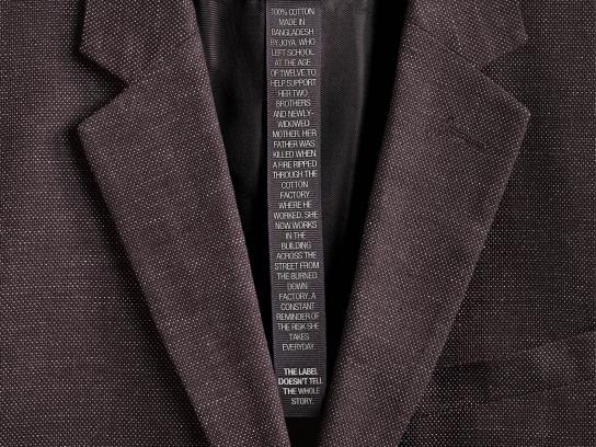 Canadian Fair Trade Network Print Ad -  Blazer