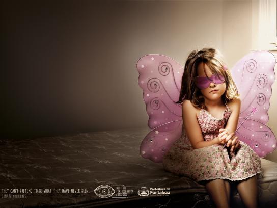Fortaleza Print Ad -  Fairy