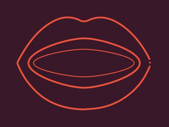 MysteryVibe Outdoor Ad - Fake Lips