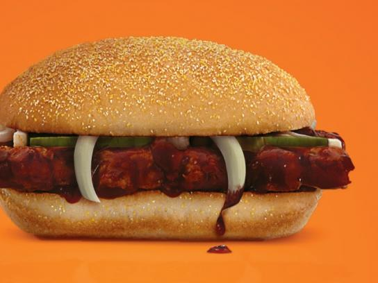 McDonald's Outdoor Ad -  Fang