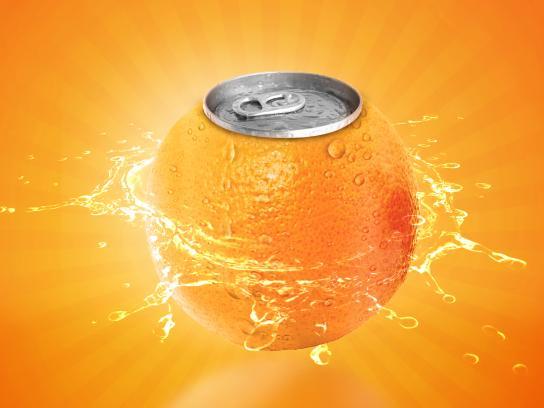 Fanta Print Ad - Oranges