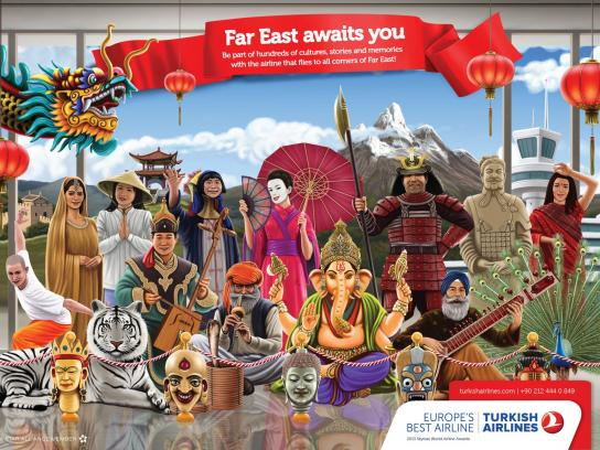 Turkish Airlines Print Ad -  Far East