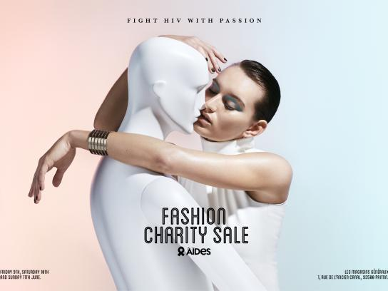 Aides Print Ad - Fashion Charity Sale