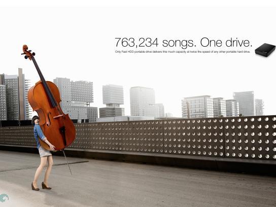 Seagate Print Ad -  Cello
