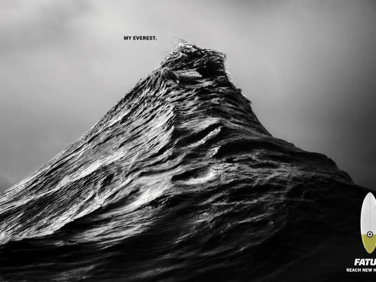 FATUM Surfboards Print Ad -  Surfer's Everest, 4