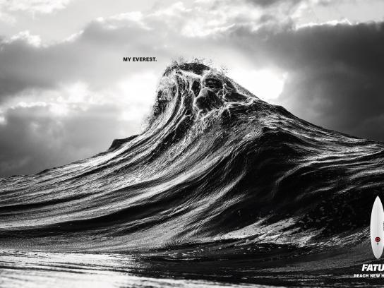 FATUM Surfboards Print Ad -  Surfer's Everest, 5