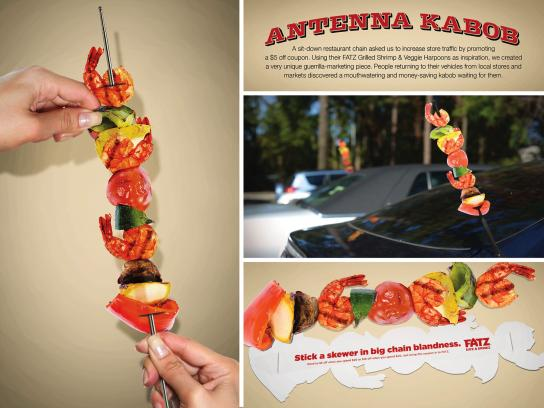 FATZ Restaurants Direct Ad -  Antenna Kabobs