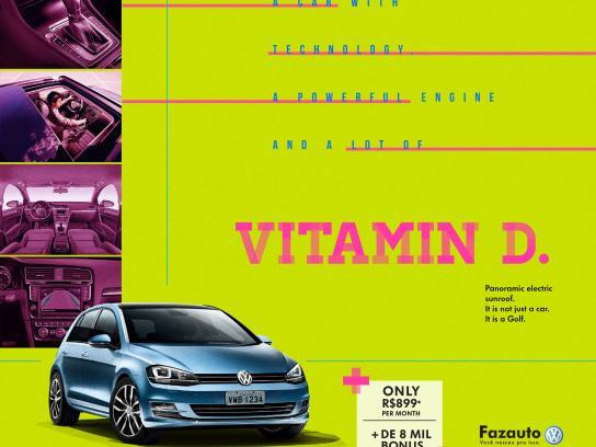 Volkswagen Print Ad - Golf, 1