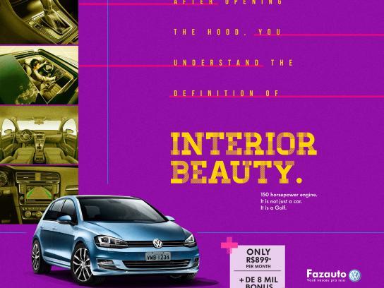 Volkswagen Print Ad - Golf, 2