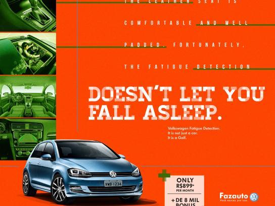 Volkswagen Print Ad - Golf, 3